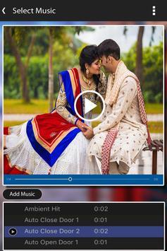 Wedding Photo Video Maker with Music apk screenshot