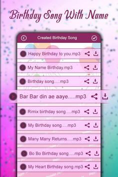 Birthday Song with Name – Song Maker screenshot 3