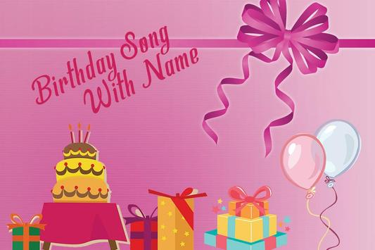 Birthday Song with Name – Song Maker poster