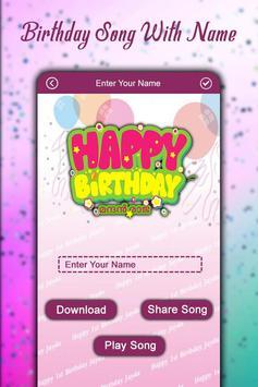 Birthday Song with Name – Song Maker screenshot 1