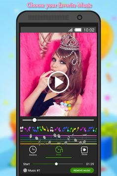 Birthday Photo to Video Maker poster