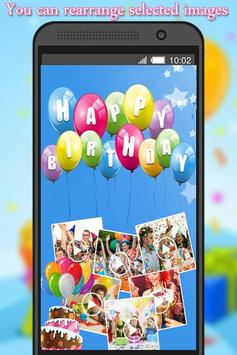 Birthday Photo to Video Maker screenshot 2