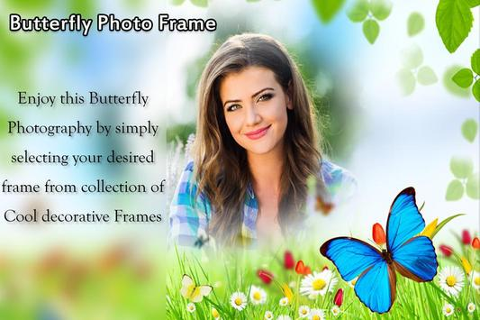 Butterfly Photo Frame poster