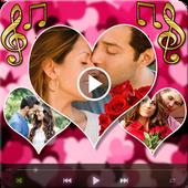 Love Photo Video Maker Music icon