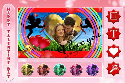 Valentine Day Photo Frame 2018 apk screenshot