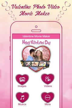 Valentine Week Photo Video Maker with Music poster
