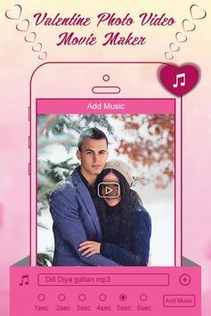 Valentine Week Photo Video Maker with Music screenshot 2