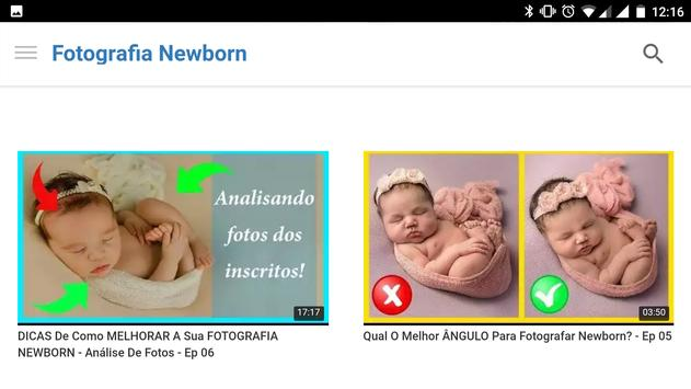 Fotografia Newborn screenshot 4