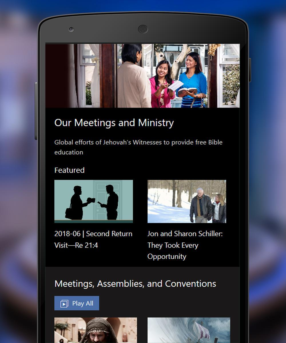 Jw Broadcasting TV - Latest video from Jw Org for Android