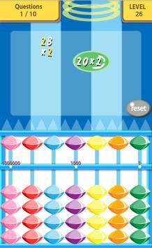 Abacus math game apk screenshot