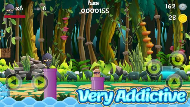 Ninja Run : Platform Games screenshot 3