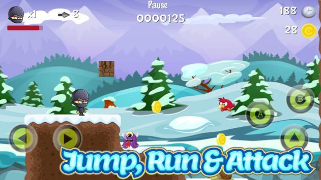 Ninja Run : Platform Games screenshot 1