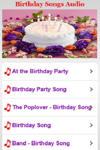 Birthday Songs Audio For Android Apk Download