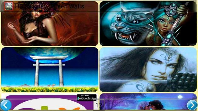 HD Fantasy Screen Walls poster