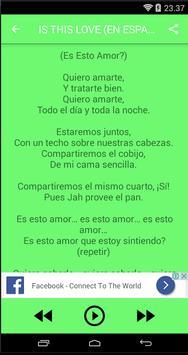 Bob Marley Songs&Lyrics screenshot 1