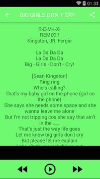 Songs&Lyrics Fergie screenshot 3