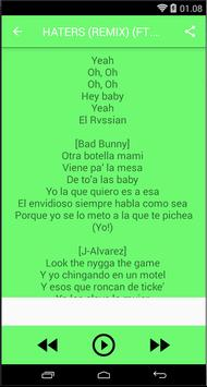 Songs&Lyrics J-Alvarez apk screenshot
