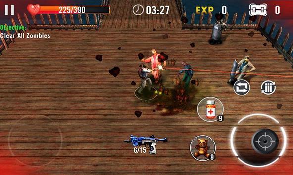 Zombie Overkill 3D apk screenshot