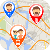 Find My Friends-Family Locator icon