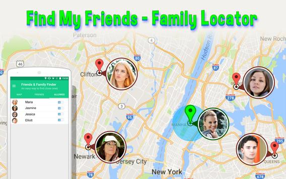 Find My Friends-Family Locator poster