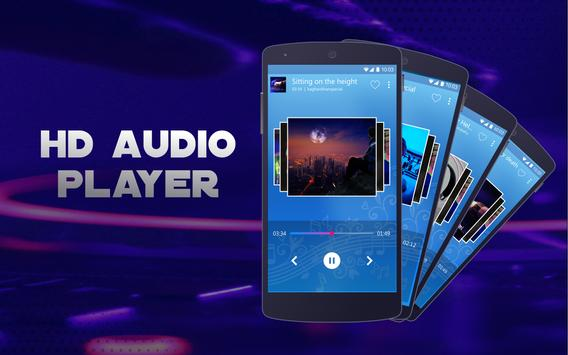 Music Player Free : MP3 Player & Equalizer screenshot 2