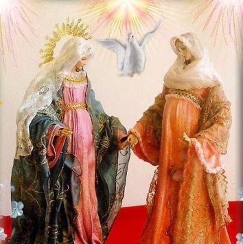 Rosario a la virgen poster
