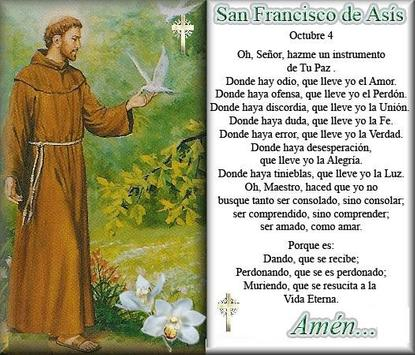 Novena del Santo Francisco poster