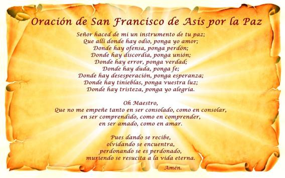Oraciones a San Francisco de Asis screenshot 2