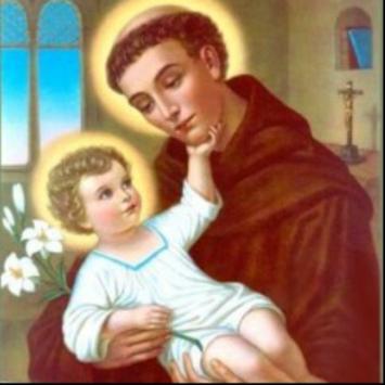 El corazon de San Antonio de Padua poster