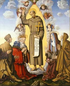 Fondos la orden de san francisco poster