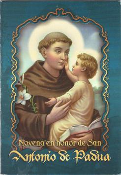 Gratis imagenes de San Antonio de Padua poster