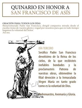 La novena al Santo Francisco de Asis screenshot 1