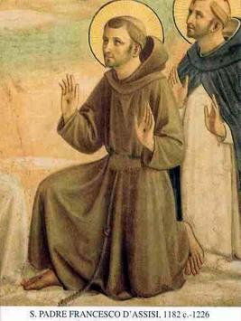 Las oraciones a Santo Francisco de asis poster