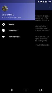 Stats for SWFC apk screenshot