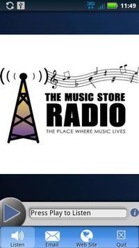 The Music Store Radio - Gospel poster