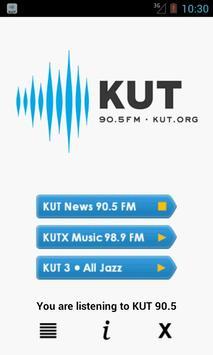 KUT 90.5 Music, News, & NPR poster