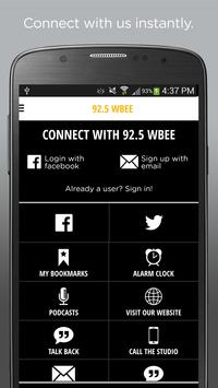 92.5 WBEE screenshot 1