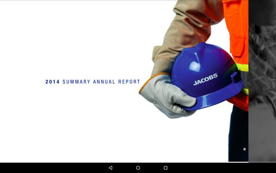 Jacobs Annual Reports poster