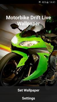Motorbike Drift Live Wallpaper apk screenshot