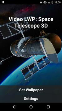 Video LWP: Space Telescope 3D poster