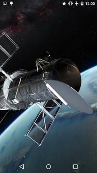 Video LWP: Space Telescope 3D apk screenshot