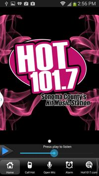 Hot 101.7 poster