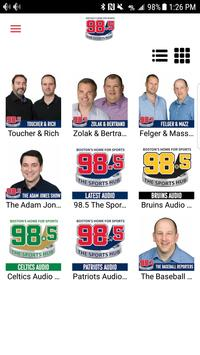 98.5 The Sports Hub screenshot 2