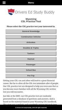 Wyoming Driver License Test screenshot 1