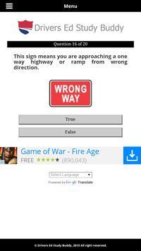 Wyoming Driver License Test screenshot 3