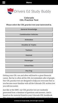 Colorado Driver License Test screenshot 1