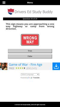 Colorado Driver License Test screenshot 3
