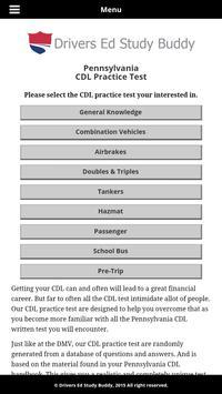 Pennsylvania Driver Lic Test apk screenshot