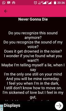 Zara Larsson Song Lyric apk screenshot