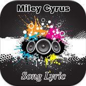 Miley Cyrus Song Lyric icon